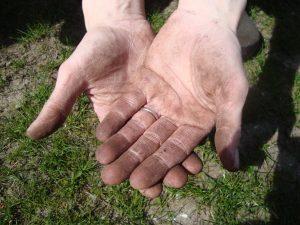 Lege handen